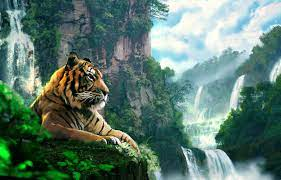 Tiger Painting Wallpapers - Wallpaper Cave