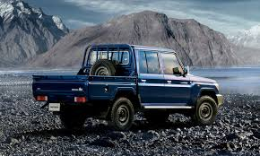 Check out the Reissued Toyota Land Cruiser 70 Pickup Truck ...