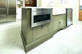 Kitchen Islands With Microwave Drawer Island Gourmet Showcases  Showcases Microwave Drawer In Island M95