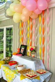 Small Picture Decor New How To Make Birthday Party Decorations Decorating