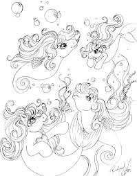 My Little Pony Coloring Pages With All Ponies Coloring Home