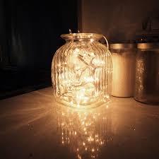 lighting in a jar. Fairy Lights In Jars~Nightlight? Lighting A Jar N