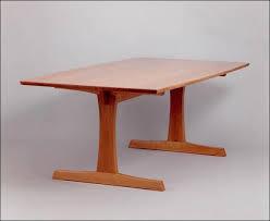 fine woodworking plans. fine woodworking trestle table plans