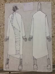 Подготовка к диплому СПбГЭУ кафедра Дизайн костюма my fashion  Эскиз к дипломной коллекции