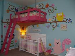 Owl Bedroom Decor Kids Tree House Themed Room For Girls Owl Themed Girls Room
