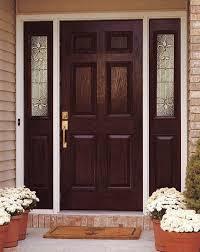 insulated exterior doors entry doors with sidelights dark wooden door with 6 panel dark