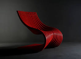 Contemporary Chair Design  Chairs  Pinterest  Contemporary Contemporary Red Chair