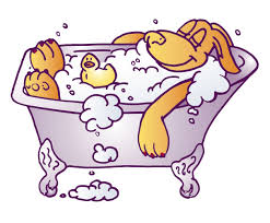 baby bathtub clipart