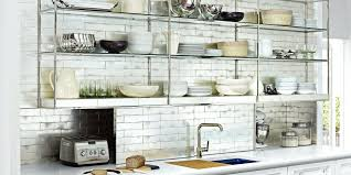 kitchen open cabinets displaying your dishes on open shelving open kitchen shelving diy