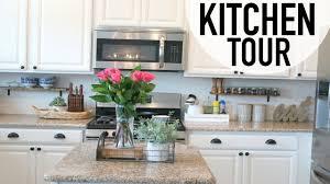 house tour kitchen tour rustic chic decor ideas