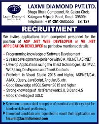 Web Designer Jobs In Nagpur Jobs In Laxmi Diamond Pvt Ltd Vacancies In Laxmi Diamond