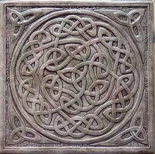 Decorative Relief Tiles Decorative ceramic tile tiles kitchen celticknottile 100 100 mossy 59