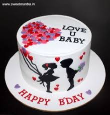 8 Top Birthday Cake For Boyfriend Images Birthday Cakes Cookies