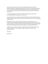 Debt Dispute Letter Http Www Valery Novoselsky Org Debt Dispute
