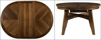 round dining room table with leaf. The Beauty Of Round Dining Room Table With Leaf / Leaves » Walnut To Oval Butterfly