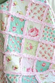 Rag Baby Quilts – co-nnect.me & ... Shabby Chic Rag Quilt Baby Girl Rag Quilt Pink Blue By Justluved 8995  Flannel Rag Baby ... Adamdwight.com