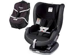 peg perego primo viaggio convertible car seat licorice with travel bag