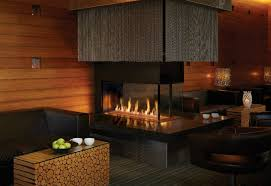 linear gas fireplaces stylish accessory for restaurants waiting areas homes