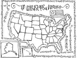 Small Picture United States Coloring Page chuckbuttcom