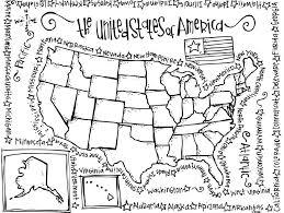 Small Picture United States Coloring Page chuckbuttcom