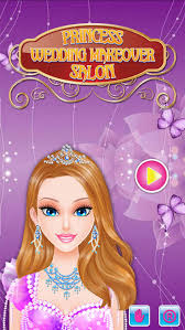 princess wedding makeover salon amazing spa makeup and dress up free games for s