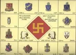 Us Army Patch Chart Has The Swastika Ever Been Used By The Us On Their Military