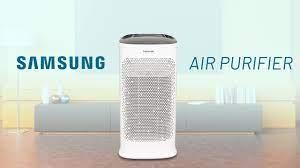 Đánh giá máy lọc không khí Samsung Air Purifier: không khi sạch mỗi ngày -  YouTube