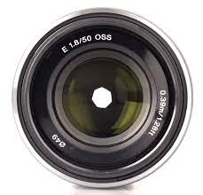 sony lens. sony e 50mm f18 oss (1) lens