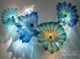 blown glass wall art