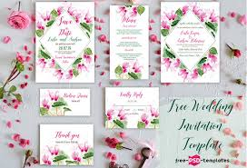 Invitation Layout Free 75 Free Must Have Wedding Templates For Designers Premium