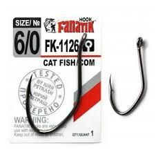 Купить <b>Крючки FANATIK</b> FK-1126 <b>CAT</b> FISH/ СОМ №6/0 по низкой ...