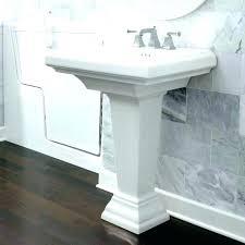 kohler pedestal sink memoirs sinks white storage home depot installation instructions kohler pedestal sink incredible bathroom