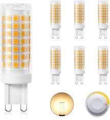 Led Light Heat Generation Dicuno Dimmable G9 120v Led Bulb 4w 40w Halogen Equivalent 430lm Warm White 3000k G9 Ceramic Base Light Bulb For Under Counter Cabinet Ceiling