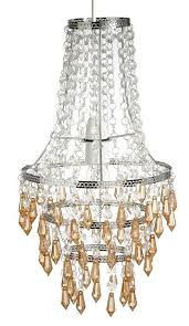 acrylic crystal droplet chandelier lamp shade ceiling pendant light fitting