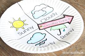 Weather Chart Kid Craft The Crafting Chicks