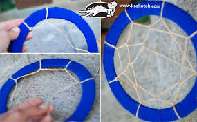 How To Make A Dream Catcher For Kids krokotak Let's Make a Dream Catcher 48