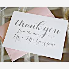 Creative Wedding Thank-You Cards | Brides