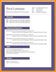 Resume Template Resume Format Word Download Free Free Career