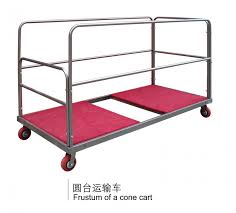 round table trolley carts