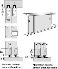 aluminum sliding cabinet door track. Sliding Door Detail Cabinet - Google-søk Aluminum Track