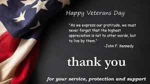 Inspirational Veterans Day Quotes And Sayings Free Printable