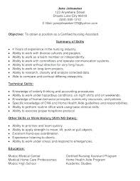 Cna Job Description For Resume Gorgeous Cna Job Description Resume Sample Job Duties Of Description Resume