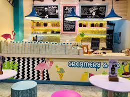 Small Ice Cream Shop Interior Design Bali Food Guide 5 Creamery Co