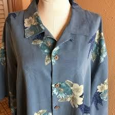 Tommy Bahama Mens Hawaiian Shirt L Authentic