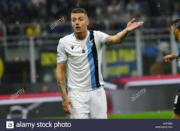 SERGEJ MILINKOVIC SAVIC LAZIO during Inter Vs Lazio , Milano, Italy, 25 Sep  2019, Soccer Italian Soccer Serie A Men Championship Stock Photo - Alamy
