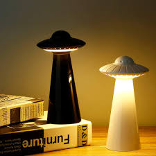 Hergon Ufo Motion Sensor Night Light With Brightness Rotation