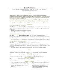 Sample Resume Examples Good Job Resume Samples Resume Samples For