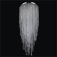 flush mount crystal chandelier divine ice 577mc30 50sp 3c 20