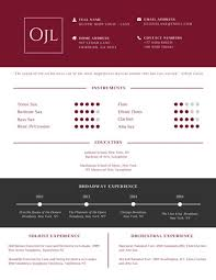 Professional Musician Resume Templates By Canva