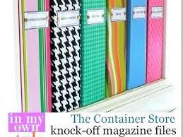 Decorative Magazine File Boxes Decorative File Storage Decorative Magazine Storage Boxes 2